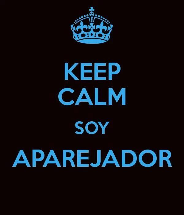 Keep calm soy Aparejador